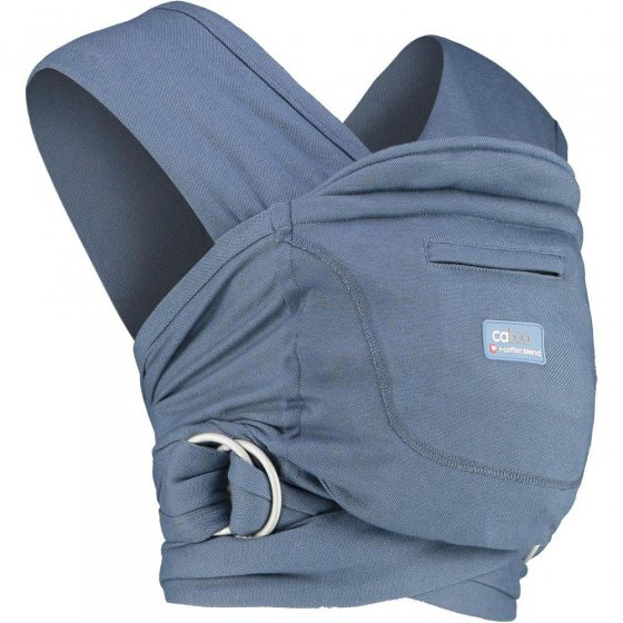 Close Caboo +Cotton Blend Baby Carrier - Stonewash