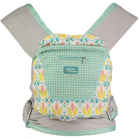 Close Caboo Prints +Cotton Carrier - Olivia