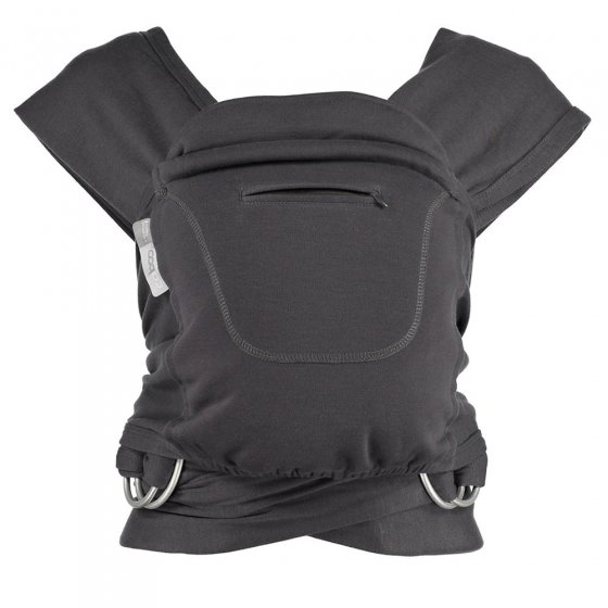 Close Caboo +Cotton Blend Baby Carrier - Graphite