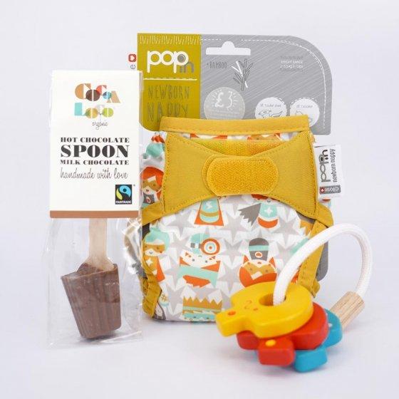 Bliss Superhero Newborn Gift Set