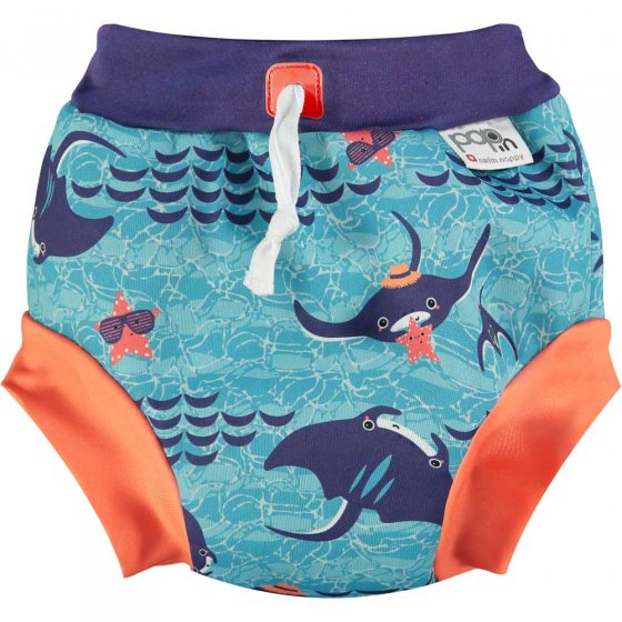 Pop-in Swim Nappy Manta Ray