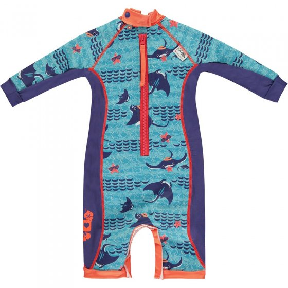 Pop-In Toddler Snug Suit Manta Ray