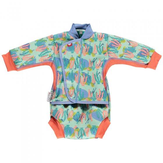Pop-In Baby Cosy Suit Turtle