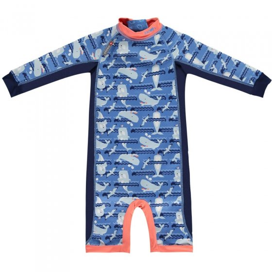 Pop-In Toddler Snug Suit Whale