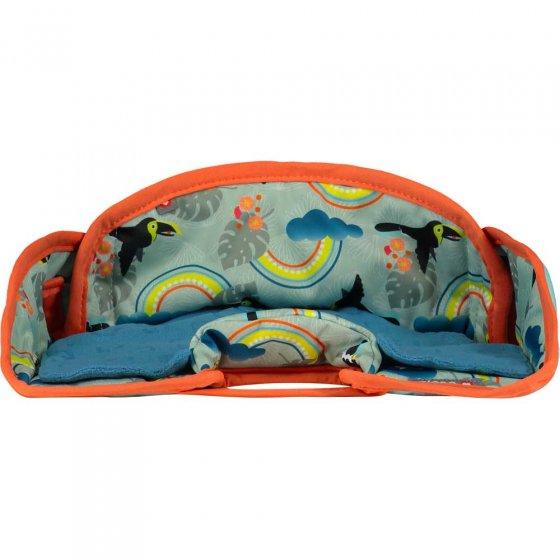 Pop-In Seat Protector - Toucan
