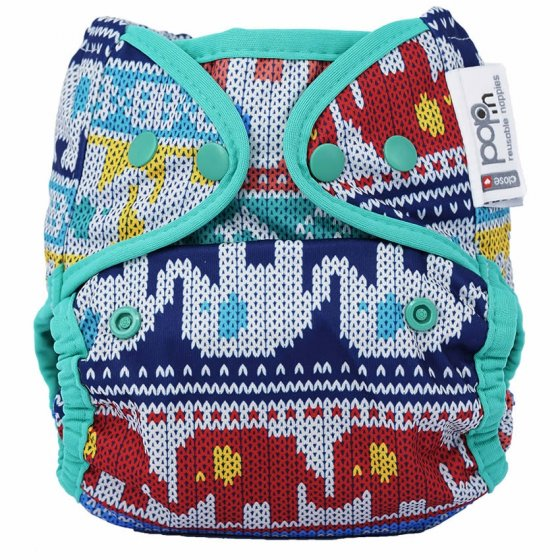 Pop-in Clyd Elephant Popper Nappy