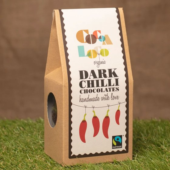 Cocoa Loco Dark Chocolate Chillies