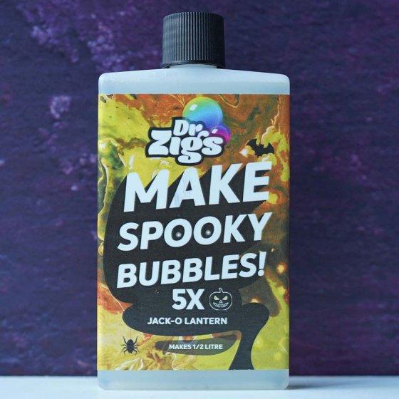 Dr Zigs Super Spooky Bubbles - Jack-o-lantern
