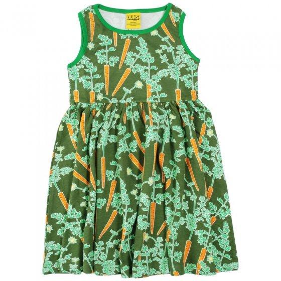 DUNS Adult Carrots Sleeveless Gathered Dress