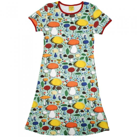 DUNS Adult Jade Mushroom Forest SS Dress