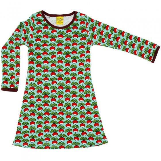 DUNS Minty Turquoise Radish LS Dress