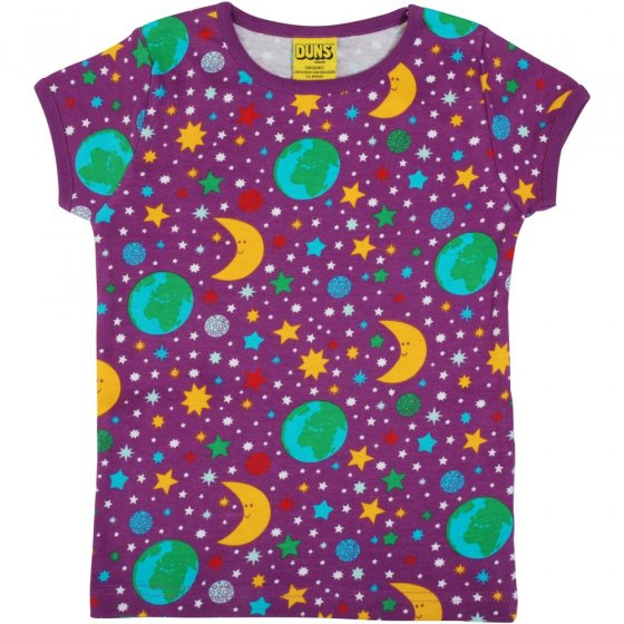 Duns Mother Earth Violet SS Top