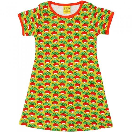 DUNS Adult Radish Lemonade A-Line SS Dress