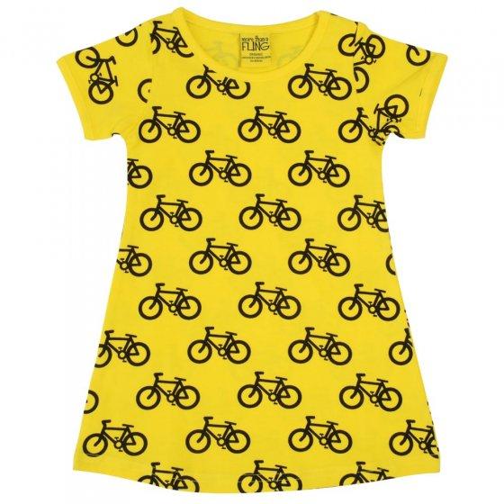 Duns Adult Bike Yellow SS Dress
