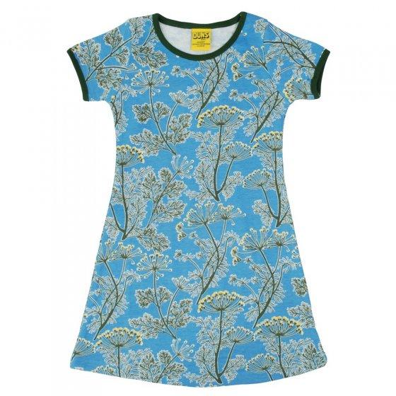 DUNS Adult Blue Dill SS Dress