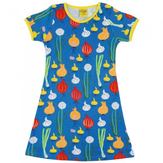 DUNS Adult Blue Garlic, Chives & Onion SS Dress