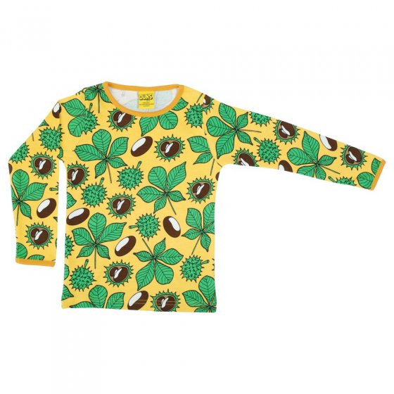 Duns Chestnut Daffodil Yellow LS Top