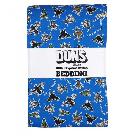Duns Flies Blue Adult Bedding