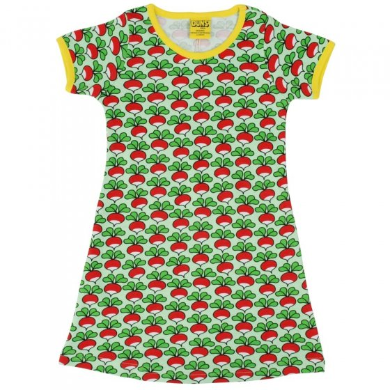 DUNS Adult Green Radish SS Dress
