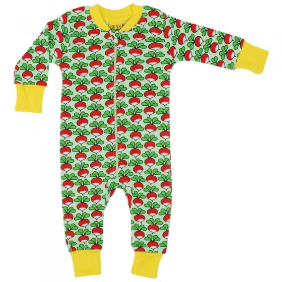 DUNS Green Radish Zip Suit