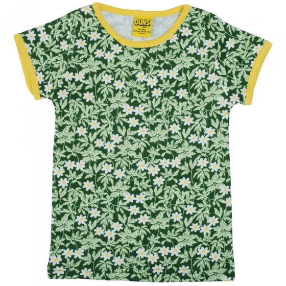 Duns Adult Green Wood Anemone SS Top