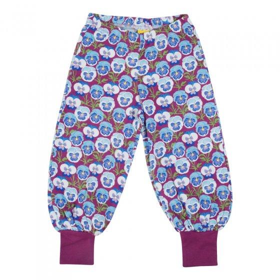 Duns Hyacinth Violet Pansy Baggy Pants