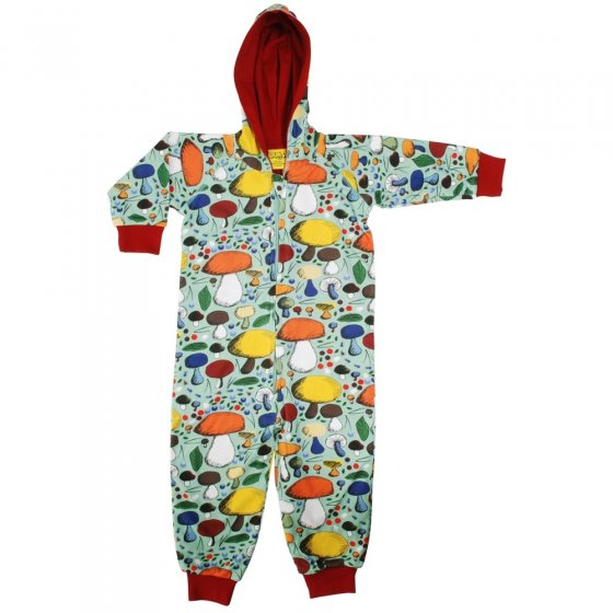 DUNS Jade Mushroom Forest Lined Hooded Suit