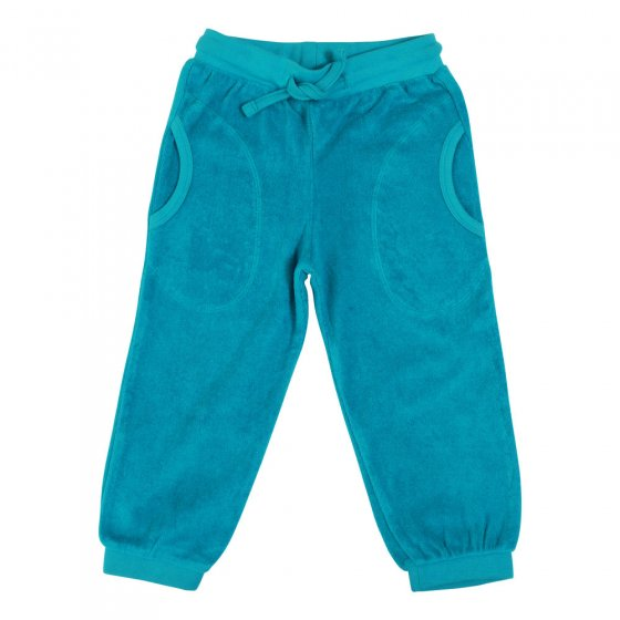 Duns Lake Blue Terry Trousers