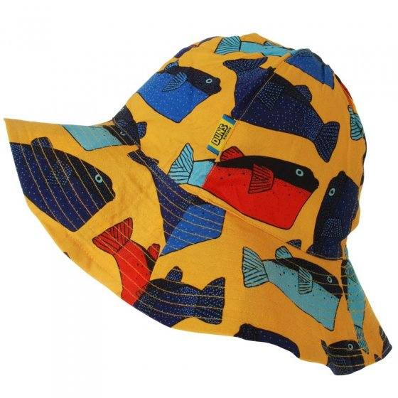 DUNS Light Orange Fugo Sun Hat