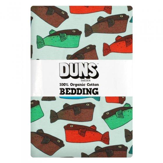 DUNS Minty Blue Fugo Junior Bedding Set