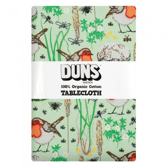 Duns Nile Green Robin Tablecloth