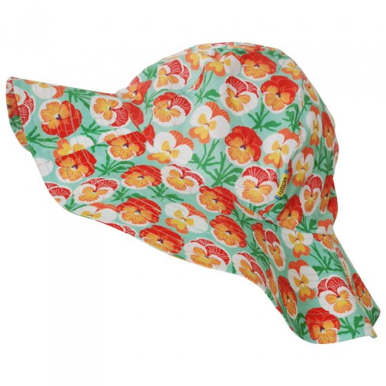 Duns Beach Glass Pansy Sunhat