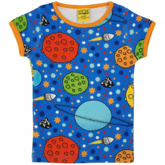 DUNS Adult Blue Lost In Space SS Top