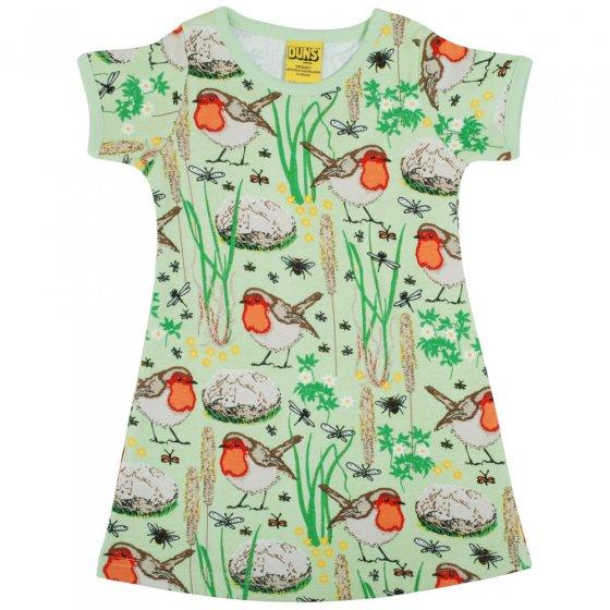 Duns Nile Green Robin SS Dress