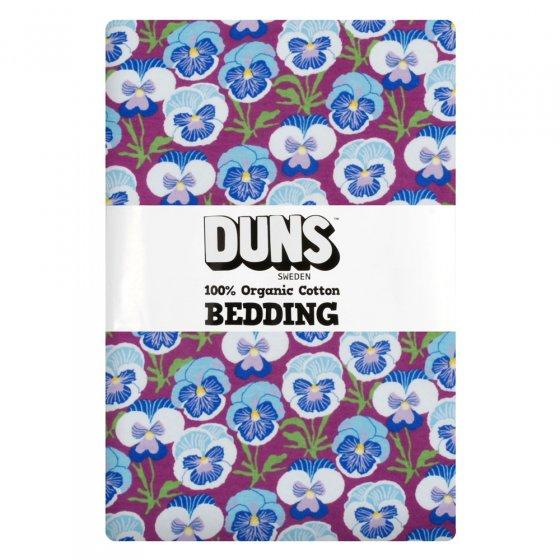 Duns Hyacinth Violet Pansy EU Single Duvet Bedding Set