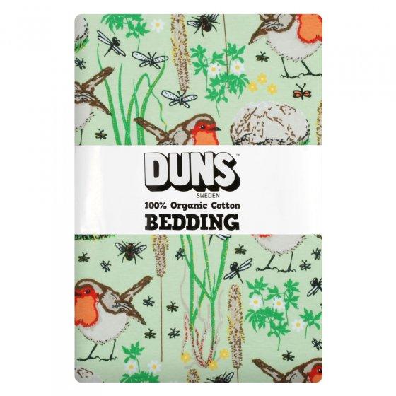 Duns Nile Green Robin EU Single Duvet Bedding Set