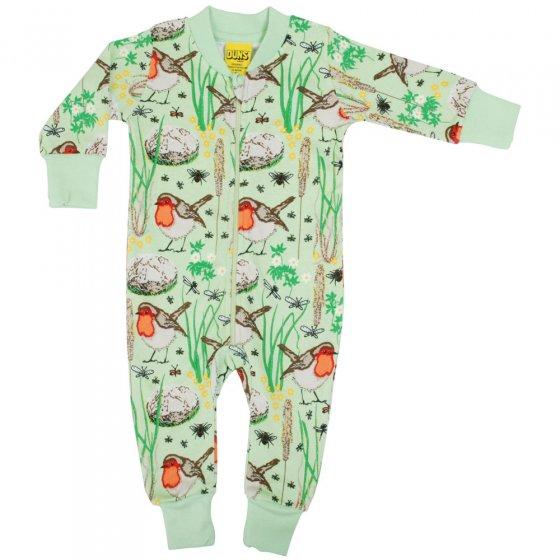 Duns Nile Green Robin Zip Suit