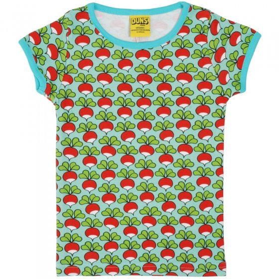 DUNS Adult Pale Turquoise Radish SS Top
