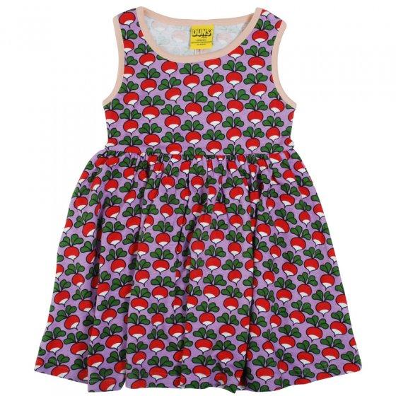 Duns Viola Radish Sleeveless Gather Skirt Dress