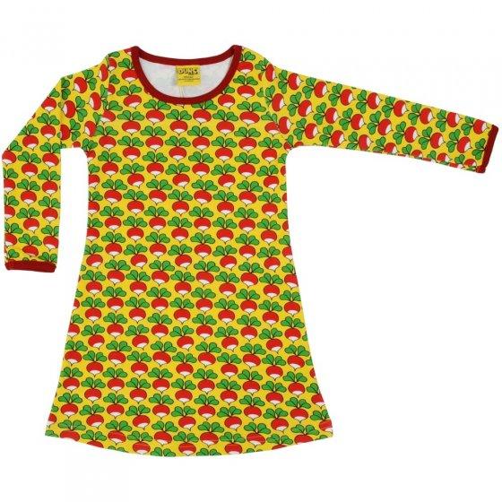 DUNS Yellow Radish LS Basic Dress