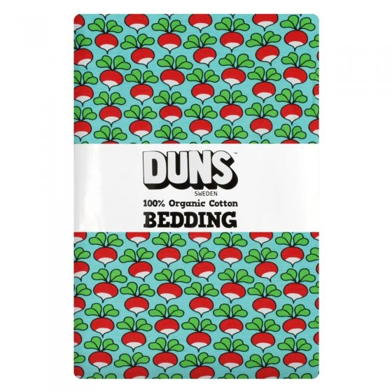 DUNS Light Blue Radish Junior Bedding Set
