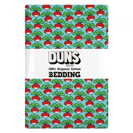 DUNS Light Blue Radish Adult Single Bedding Set