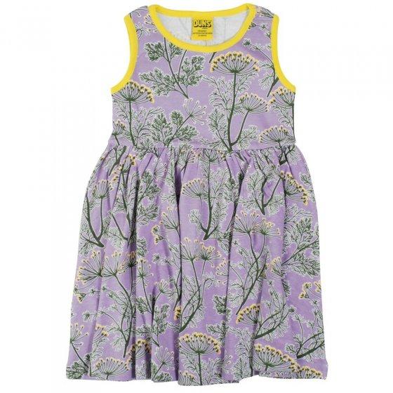 DUNS Adult Violet Dill Sleeveless Gathered Dress
