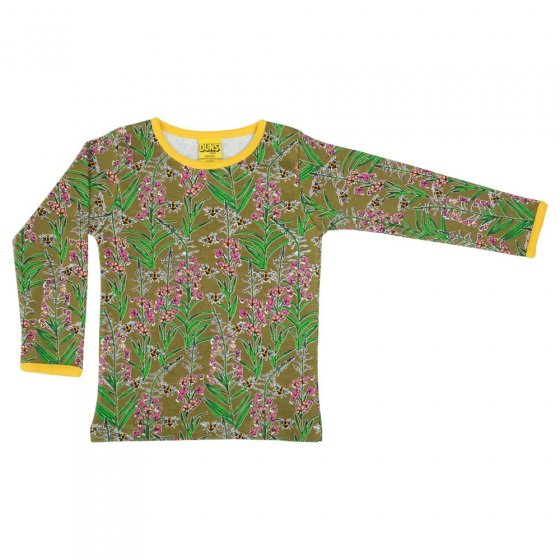 Duns Willowherb Olive Branch LS Top