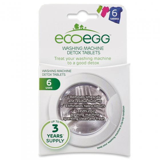 Eco Egg Washine Maching Detox Tablets