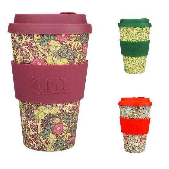 Ecoffee Cup Large 14oz William Morris Coffee Cup