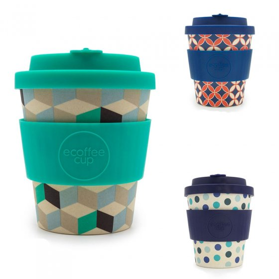 Ecoffee Cup 8oz Bamboo Coffee Cup