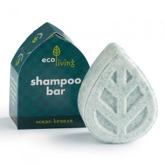 Ecoliving Soap Free Solid Shampoo Bar - Ocean breeze