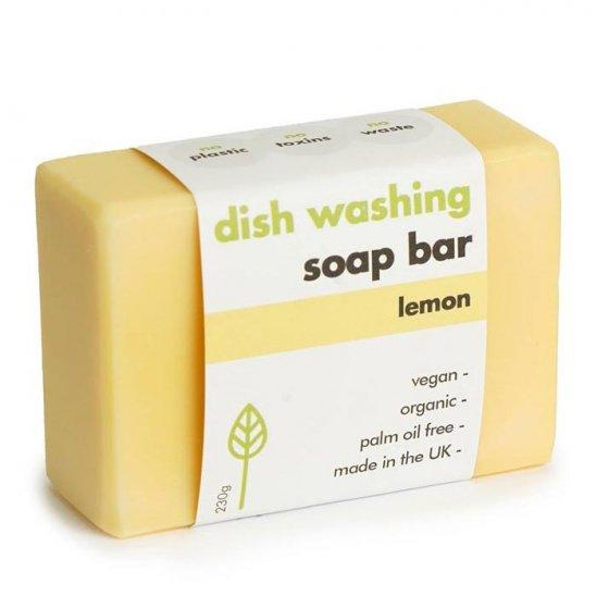 Ecoliving Washing-up Dish Soap Bar - Lemon, 155g