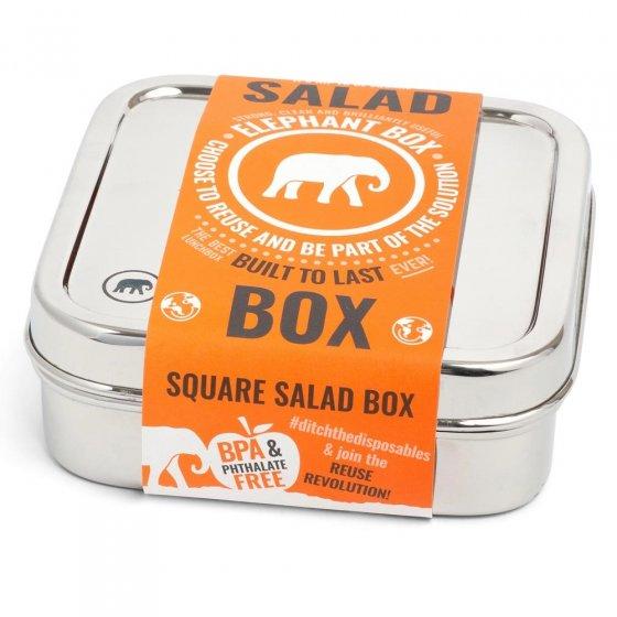 Elephant Box Square Salad Box 600ml